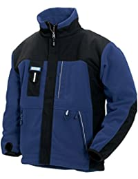 4835 Blaklader Functional Fleece Jacket Blue / Black size Medium