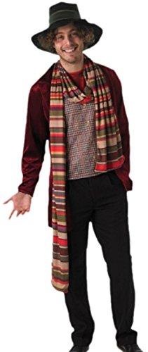 Preisvergleich Produktbild Halloweenia - Herren Doctor Who Kostüm, Karneval, Fasching, M/L, Mehrfarbig