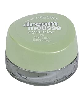 Maybelline Dream Mousse Eyeshadow 08 EDEN GREEN
