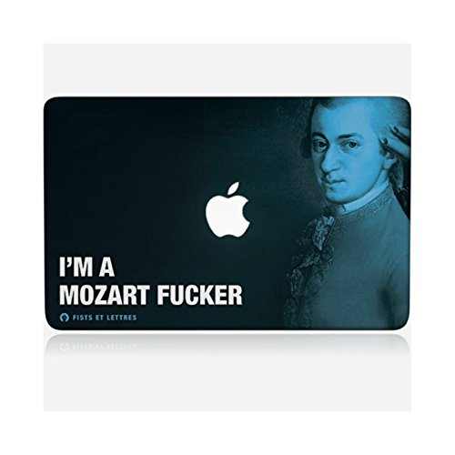 Skinkin Wandtattoo MacBook Pro 13von zu Hause Design Original: Mozart von Fists und Buchstaben
