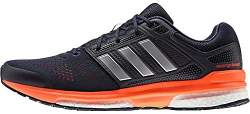 adidas Revenge Boost 2 M, Herren Niedrig marineblau / silber / orange