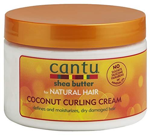 Cantu - Sheabutter Lockencreme mit Kokosnuss - feuchtigkeitsspendende Haarcreme für definierte Locken und strukturiertes Haar - 1er Pack (1 x 340 g)