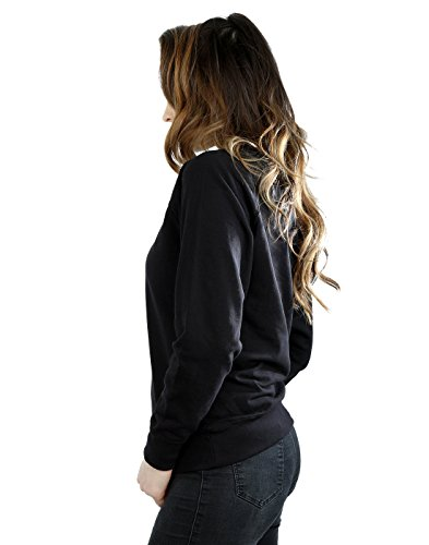 Harry Potter Femme Ravenclaw Sport Emblem Sweat-Shirt Noir