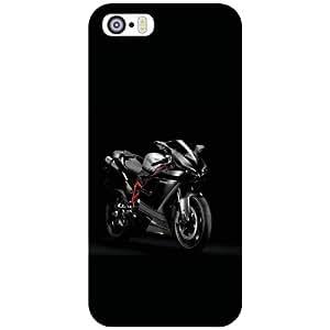Apple iPhone 5S Back cover - Black Designer Cases