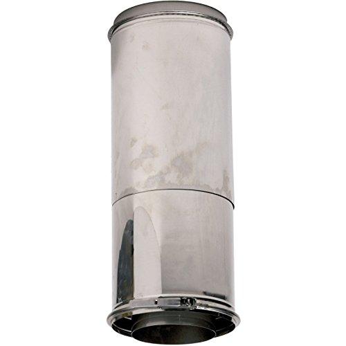 Tuyau isolé réglable 350 à 450 mm OPSINOX Inox 316/304 diamètre : 153 Réf 090538