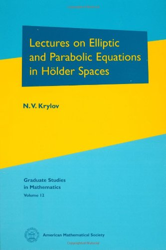 Lectures on Elliptic and Parabolic Equations in Holder Spaces