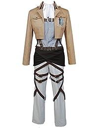 Disfraz de cosplay de legión de reconocimiento, Shingeki no Kyojin (Ataque a los titanes