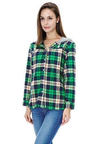 bearsland - Chemisier - Femme Vert - Vert