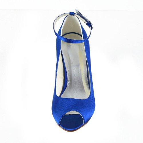 Jia Jia Wedding 121758 Scarpe Sposa Scarpe col tacco donna Blue