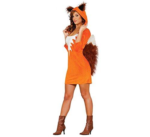 Fiestas Guirca Sexy Fuchs-Damenkostüm Tier-Verkleidung - Sexy Waschbär Kostüm