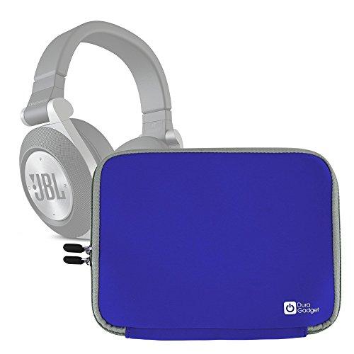 Duragadget Housse en Noir pour Casque Audio JBL Synchros E30, E40 BT, E50 BT et Everest Elite - Protection en néoprè
