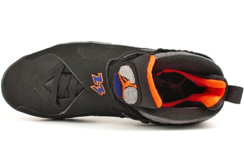 Nike Air jordan 8 retro 136064 005 blk/brght ctrs-cl gry-dp ryl b