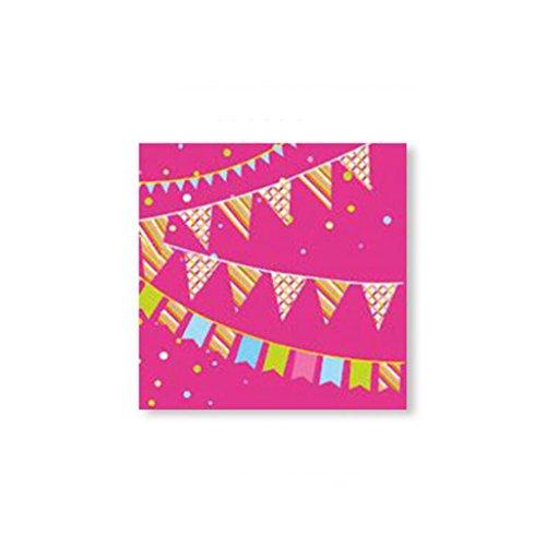 ucken Taschentuch Hochzeit Serviette Papierhandtücher 33 * 33 cm 20 Blätter / 1 Packungen ( Farbe : D ) (Serviette Drucken)