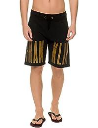 Franklin & Marshall Men's Fleece Uni Men's Pink Shorts