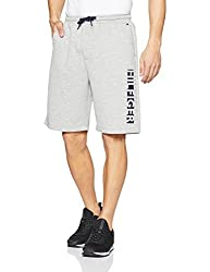 Tommy Hilfiger Mens Lounge Shorts (A7ABN103_M_Grey Heather)