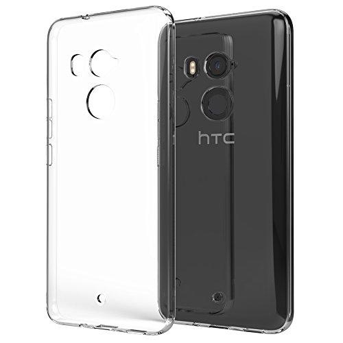 NALIA Funda Carcasa para HTC U11 Plus, Protectora Silicona Ultra-Fina Gel...