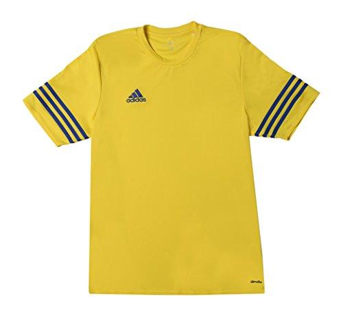 Adidas f50485, maglietta bambini, giallo (gelb/blau), 140