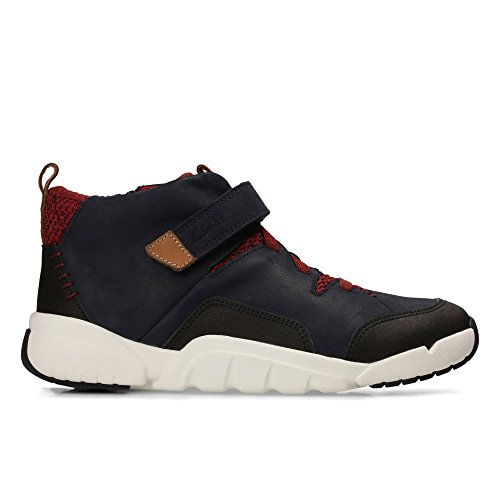 Clarks Tri Mimo Jnr Boys Casual Boots 1.5 Navy