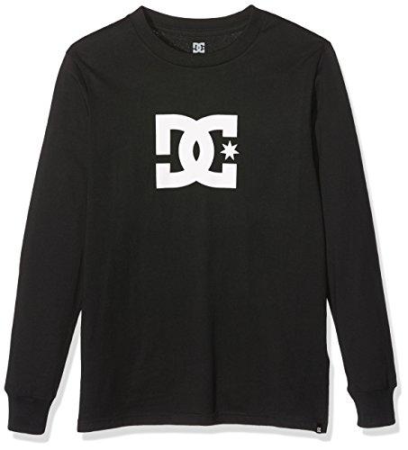 DC Shoes Star Boy-Maglietta a maniche lunghe per schermo, colore: nero, dimensione Small 12/m