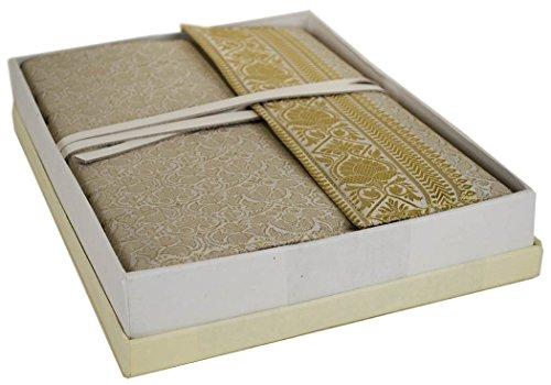journal-sari-tres-grand-format-relie-main-fait-main-argile-uni-pages-30cm-x-21cm-x-3cm