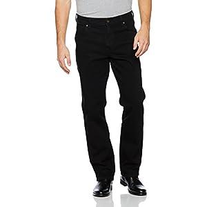 Wrangler Herren Regular Fit Black Jeans