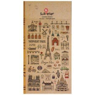 BELLE DE COEUR Sticker Mitternachts Paris