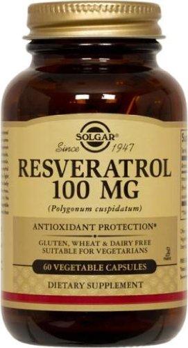 Solgar Resveratrol Cápsulas vegetales - Envase de 60