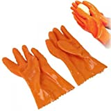 Potato Peeler Gloves - TOOGOO(R) Mitts Gloves Potato Peeler Peeling Tater Leather Gloves