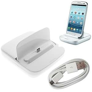 Samsung USB Dockingstation Ladestation Ladegerät + USB Kabel Universal für Samsun Hanyds