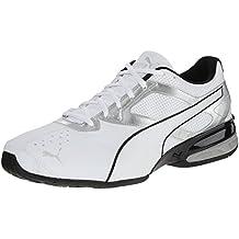 Puma Tazon 6 El entrenamiento cruzado de zapatos, Blanco, 41 EU