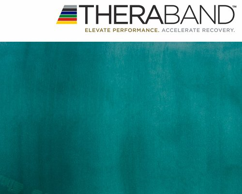 Thera-Band Original 2,5m grün + Original 24-seitiges Übungsbuch gratis