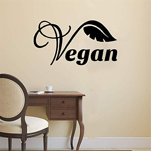 Wandaufkleber Kinderzimmer wandaufkleber 3d Abziehbilder Zimmer Design Dekor Muster Vegan Veggie Life Style Blatt Gesundheit Removabe