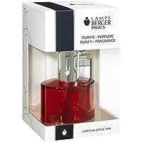 Lampada Berger 00443Cofanetto ovale rosso Diffusore di profumo e purificatore,