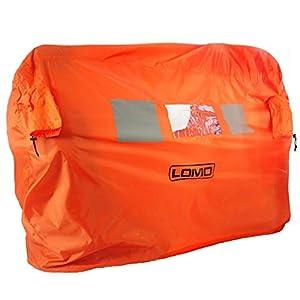 Lomo Notfall Sturmschutz Notzelt Beides Tasche – 2 bis 3 Personen – Orange