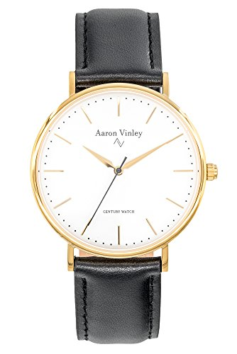 Aaron Vinley Uhr | Stockholm Serie - Weiß | Kratzfestes Saphirglas |...