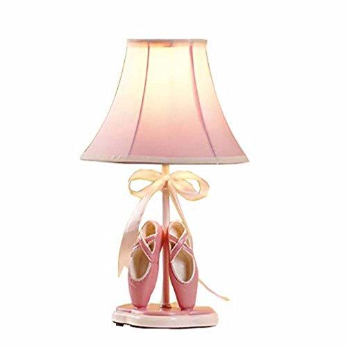 Ali Europäische Prinzessin Mädchen Kinderzimmer Lampe Schlafzimmer Nachttischlampe Stoff-Leuchte nett -