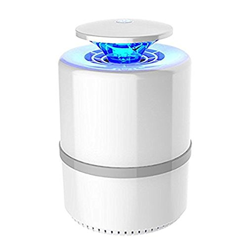 ANFAY USB Elektron Bug Zapper Mücken Killer Lampe Photocatalyst Nicht Strahlend Stumm Nicht-Chemische Schädlinge Killer,White