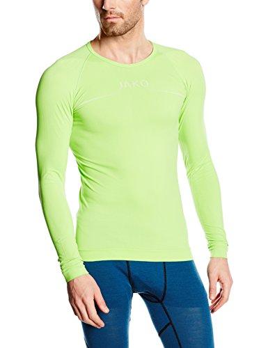 JAKO Herren Longsleeve Comfort Basic-Underwear, Apple, XL
