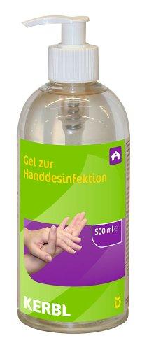 Kerbl 15285 Handdesinfektion 500 ml, gebrauchsfertig