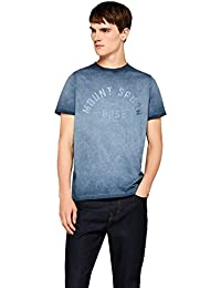 FIND T-Shirt Délavé Mount Spurr Homme