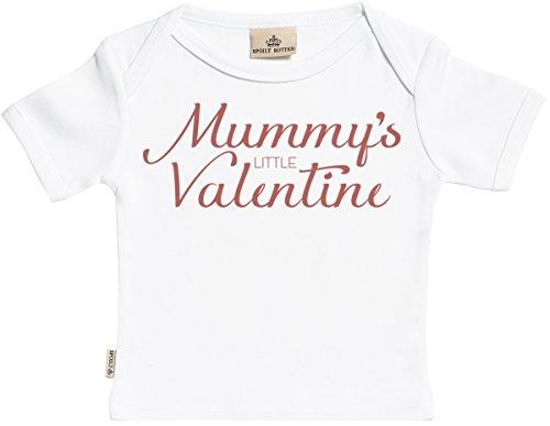 Mummy's Little Valentine Kurzarm Baby T-Shirt - Kleinkind T-Shirt - Baby Shirt - Baby Geschenkset - Weiß - 18-24 Monate (Für Kleinkinder Valentine-t-shirts)