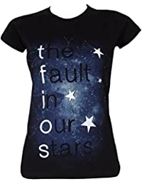 The Fault In Our Stars Ladies Galaxy T-Shirt Black