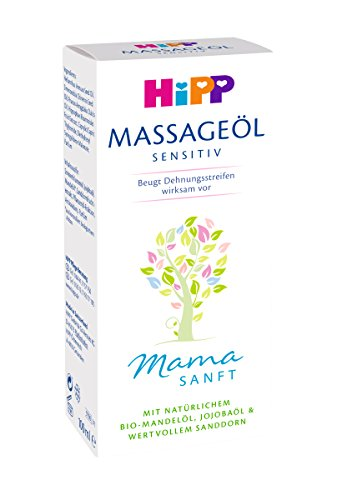 HiPP Mamasanft Massage-Öl, 100 ml