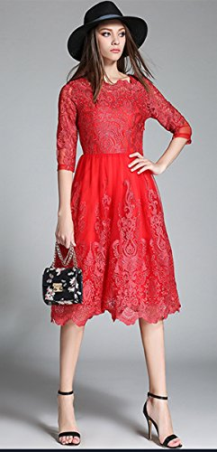 Lacus-UK - Robe - Femme 68 red