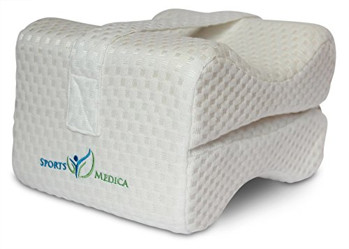 sports-medica-memory-foam-pillow-with-leg-strap-doctor-recommended-for-sciatica-pregnancy-carpal-tun