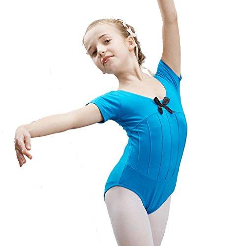 Byjia Ballett Tanz Mädchen Kleid Kinder Bühnen Studenten Gruppe Team Gymnastik Praxis Match Kleidung Kindergarten Kinder Prinzessin Leistung Kostüme Party Coverall 8# (Von Acht Halloween Gruppe Kostüme)