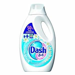 Dash 2en1 - 81285977 - Lessive Liquide - Source de Fraîcheur - 27 Doses