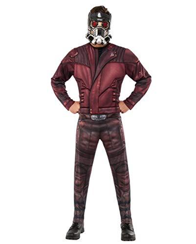 Horror-Shop Star-Lord Kostüm mit Maske als original Guardians of The Galaxy Jumpsuit Standard