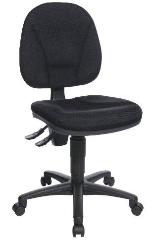 Bürodrehstuhl Point 10 schwarz uni