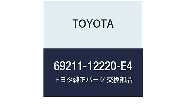 Toyota 69211-12220-E4 Outside Door Handle